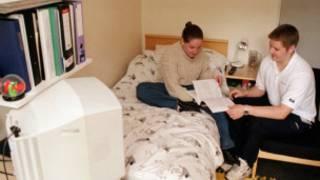 英國學生宿舍