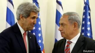 Kerry y Netanyahu