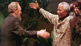 Castro y Mandela
