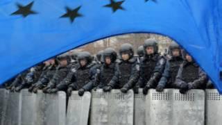 Masu zanga-zanga a kasar Ukraine