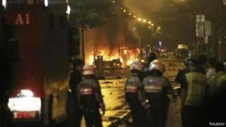 Kerusuhan di Singapura