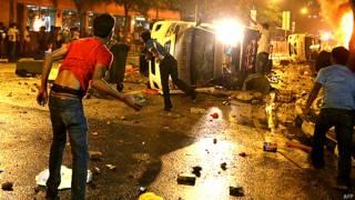 सिंगापुर में हिंसा