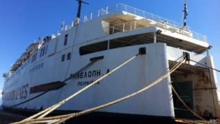 el barco Penélope