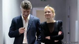 Аксана Панова и Ройзман