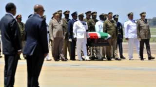 Ikiziga ca Mandela gishitse i Qunu