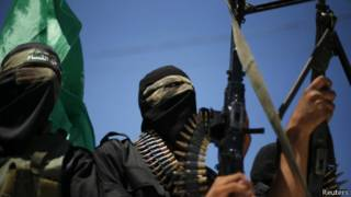 Боевики в секторе Газа