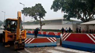 नई दिल्ली में अमरीकी दूतावास