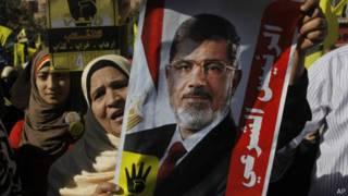 Сторонники Мохаммеда Мурси