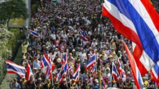 Abarwanya ubutegetsi muri Thailand