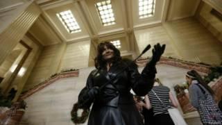 Terri-Jean Bedford em corte canadense (foto: Reuters)