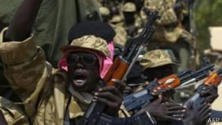 दक्षिण सुडानका विद्रोहीहरु