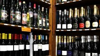 वाइन की बोतलें