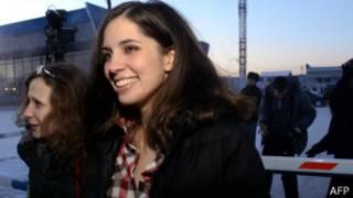 Марія Альохіна і Надія Толоконникова