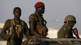 दक्षिण सूडान, सेना