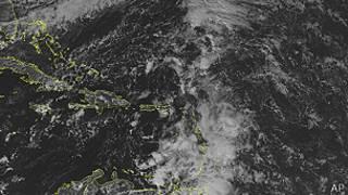 Lluvias sobre el Caribe