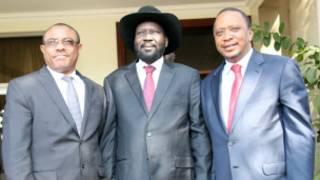 Ibiganiro muri Sudan y'amajyepfo