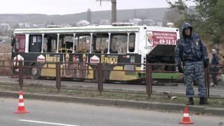 Atentado contra ônibus em Volgogrado | Crédito: AP