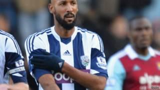 Anelka, 34, membuat tanda yang digambarkan sebagai salut gaya Nazi yang juga digambarkan sebagai antisemit, setelah mencetak gol melawan West Ham pada tanggal 28 Desember 2013.