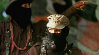 Subcomandante Marcos del EZLN