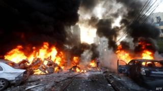 بمب گذاری در بیروت (عکس از آرشیو)
