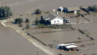 Enchente nos EUA, em foto de arquivo