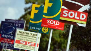 Imóveis vendidos na Grã-Bretanha (PA)