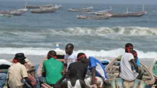 Сенегальские рыбаки