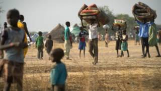 Masu gudun hijira a Sudan ta Kudu