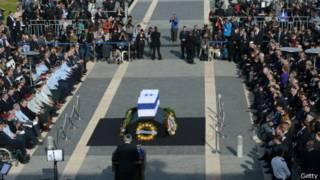 Похороны Шарона