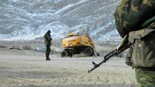مرز تاجیکستان و قرقیزستان