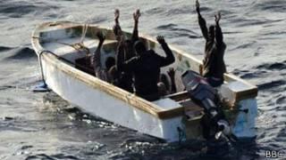 Piratería maritima