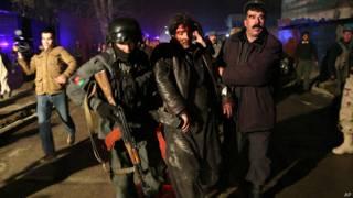 काबुल में आत्मघाती बम हमला