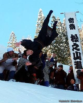 जापान, दूल्हा, बर्फ़, रिवाज़