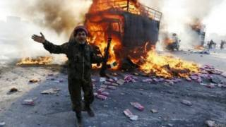 सीरिया में हिंसा