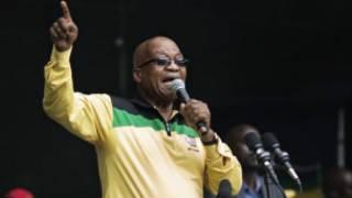 Shugaban kasar Africa ta Kudu Jacob Zuma