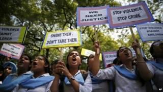 बलात्कार के ख़िलाफ़ प्रदर्शन (फ़ाइल फोटो)