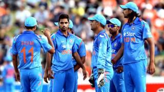 न्यूज़ीलैंड दौरे पर भारतीय टीम