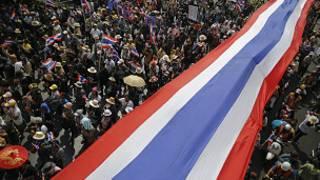 Masu zanga zangar adawa a Thailand