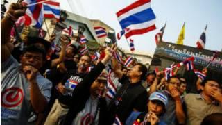 Unjuk rasa di Thailand
