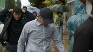 Мигранты в Сочи