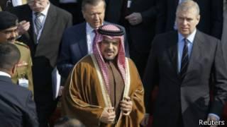 الأمير سلمان بعد المحادثات