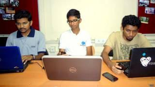 मोबाइल ऐप बंक मॉनीटर को बनाने वाली टीम