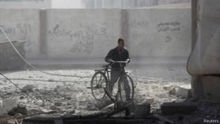 Руины в Дамаске