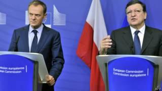 Баррозу и Туск
