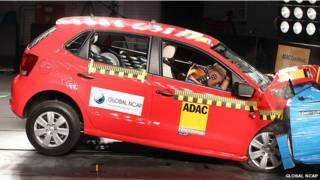 ग्लोबल एनसीएपी कार क्रैश टेस्ट