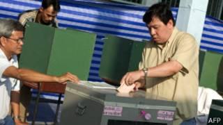 थाइ मतदान
