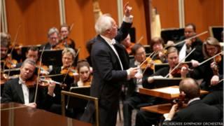 Orquesta Sinfónica de Milwaukee en concierto