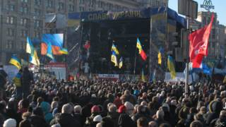 """""""Информационный митинг"""" на Майдане"""