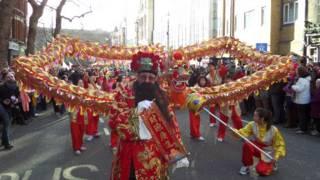 馬年春節花車遊行
