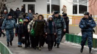 Из школы эвакуировали всех школьников и учителей